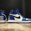 Sneaker Customizer Creates Custom Air Jordan 1s For Shane McMahon In Honor Of WWE Draft