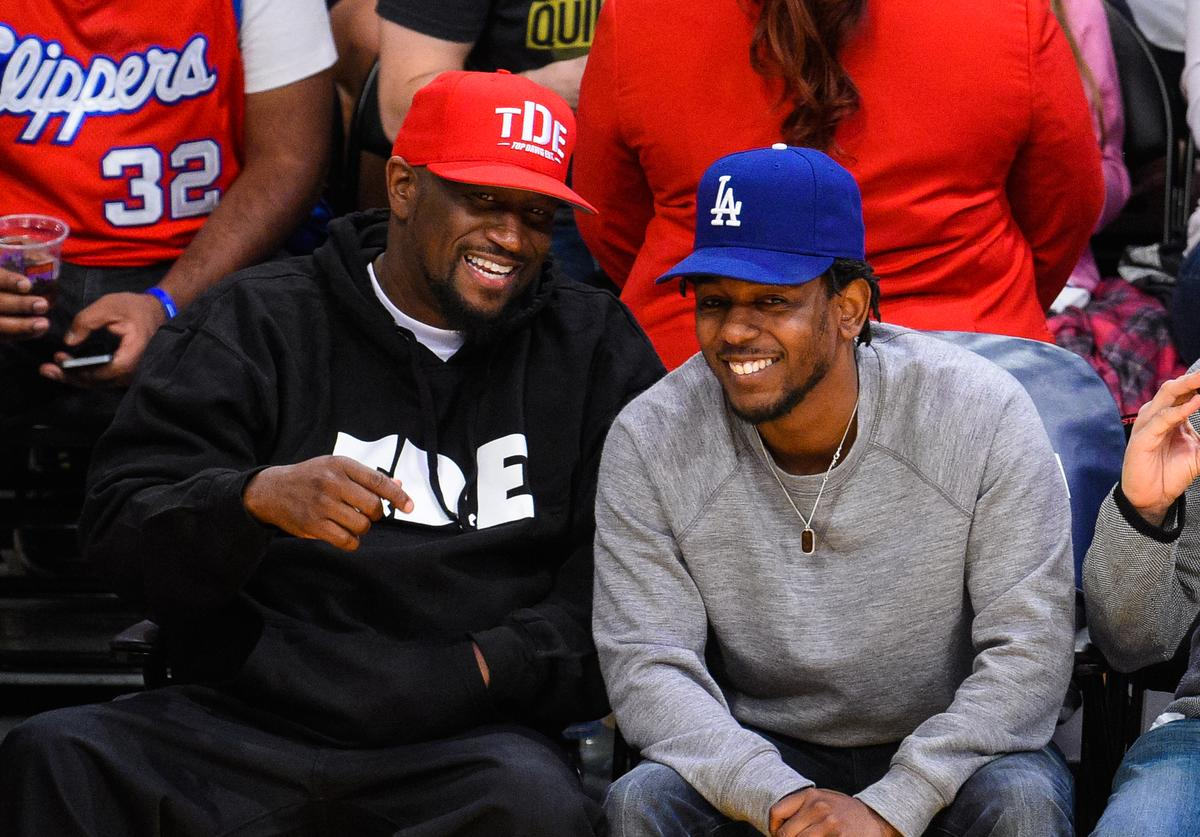 "Kendrick Lamar & Anthony ""Top Dawg"" Tiffith"