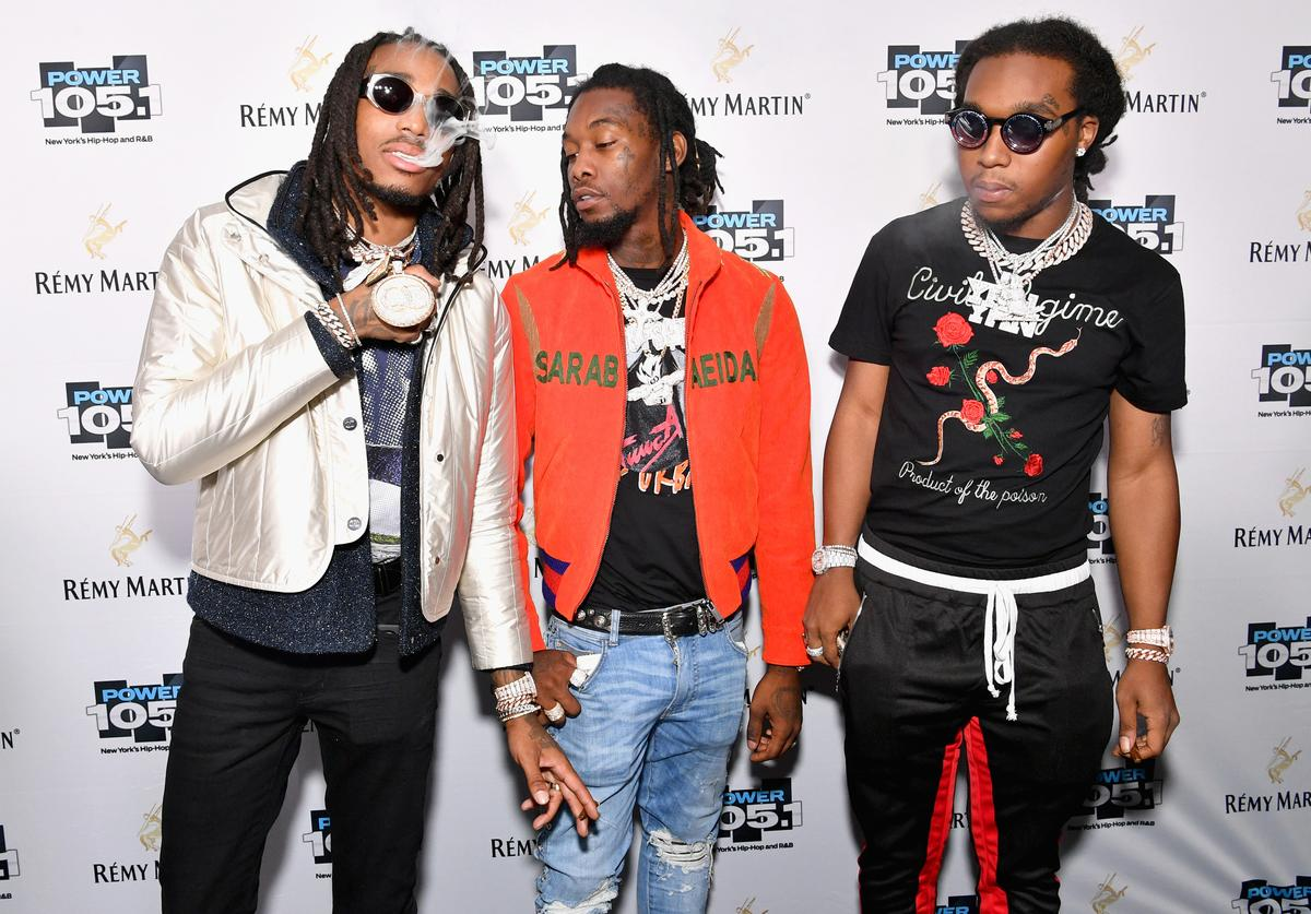 Migos arriving at Powerhouse 2017