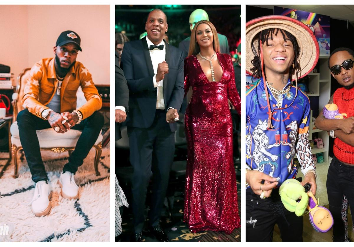 Tory Lanez, Jay-Z & Beyonce and Rae Sremmurd are all on FIRE EMOJI