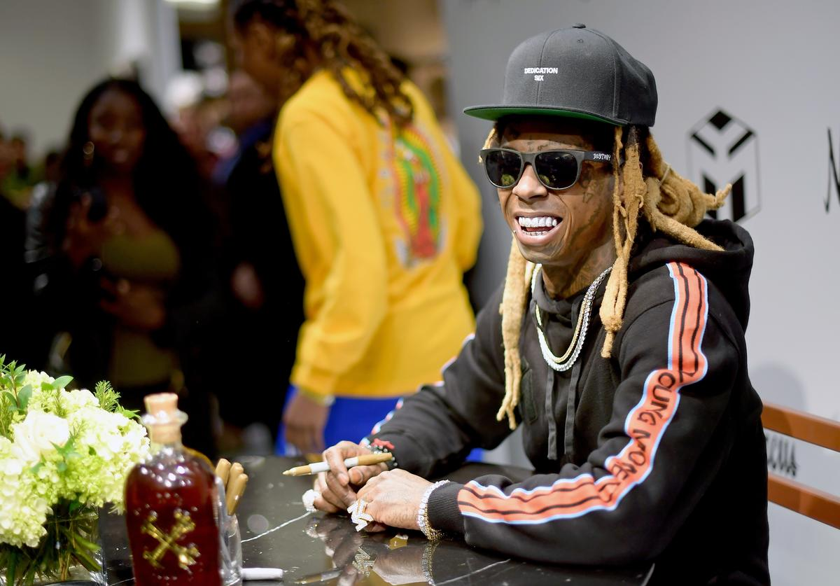 Lil Wayne at the young money neihman marcus launch