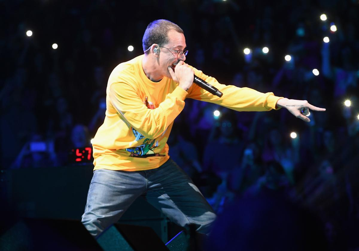 Logic onstage