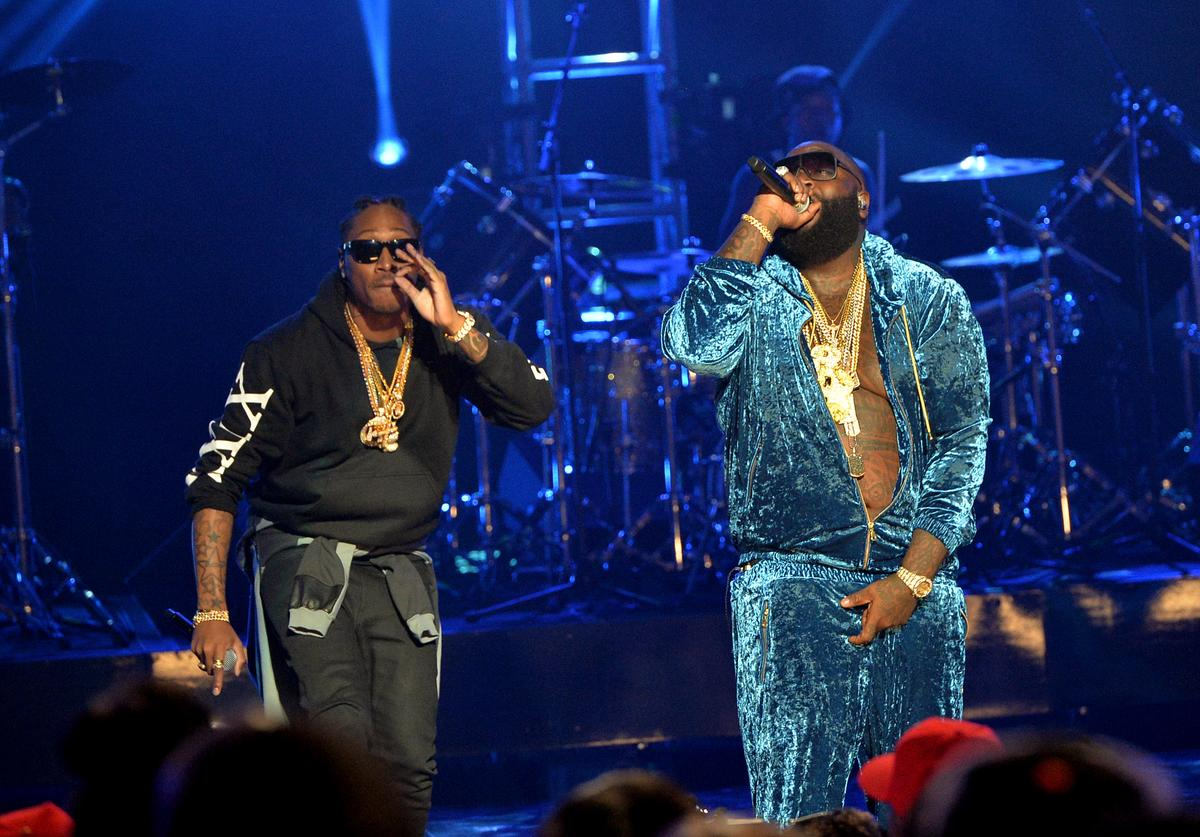 Future & Rick Ross Perform Onstage