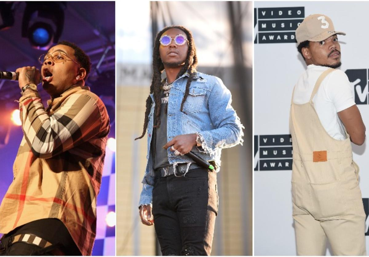 Kevin Gates, Takeoff, Chance The Rapper