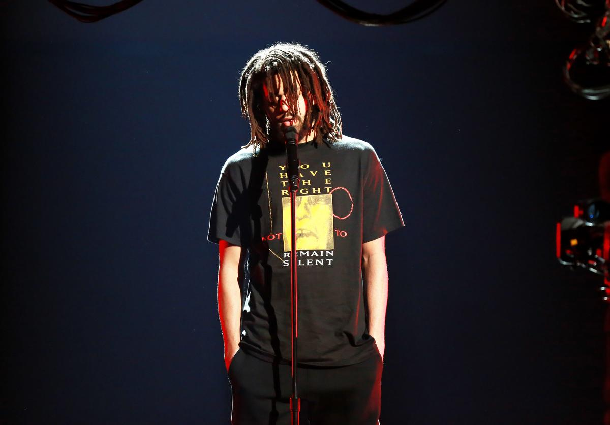 J. Cole at 2018 BET Awards