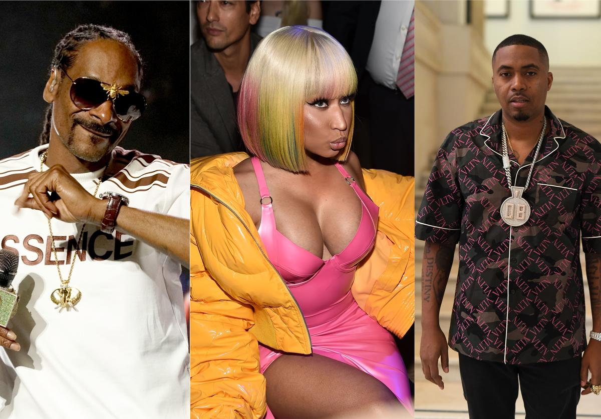 Snoop Dogg, Nicki Minaj and Nas w best verses