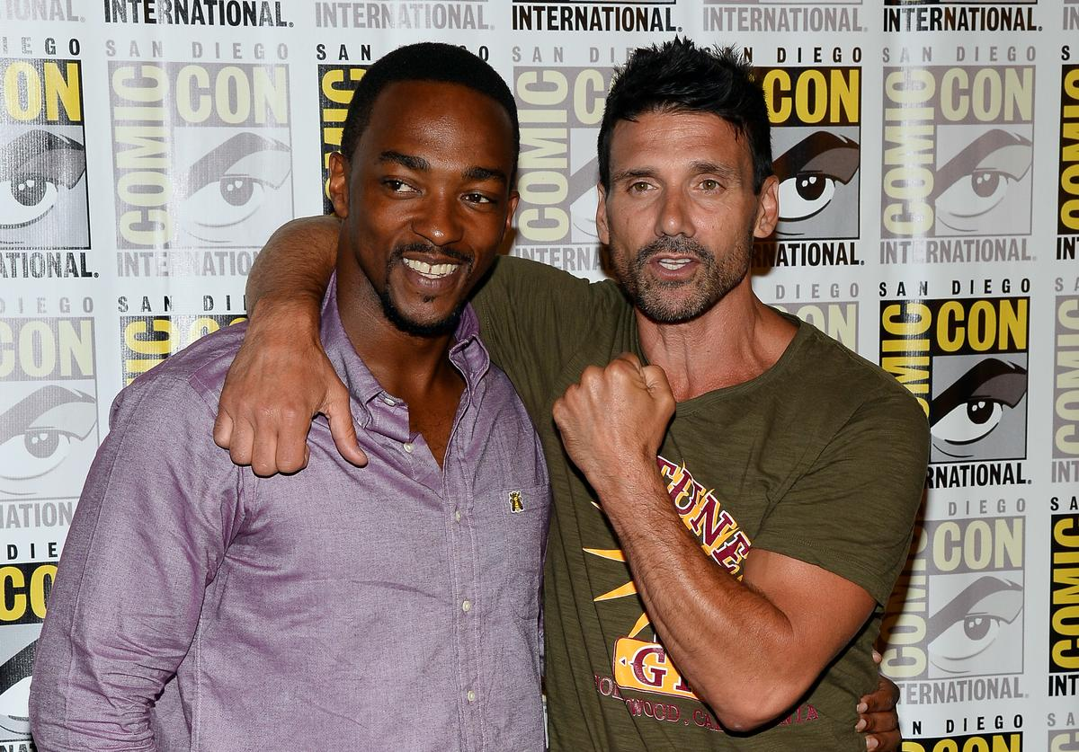 Anthony Mackie and Frank Grillo