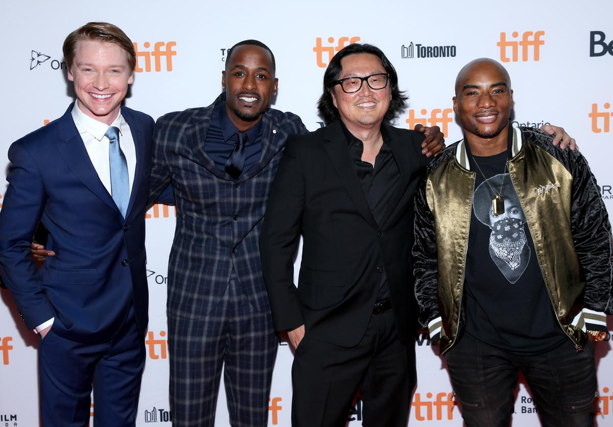 Calum Worthy, Jackie Long, Joseph Kahn, and Charlamagne Tha God