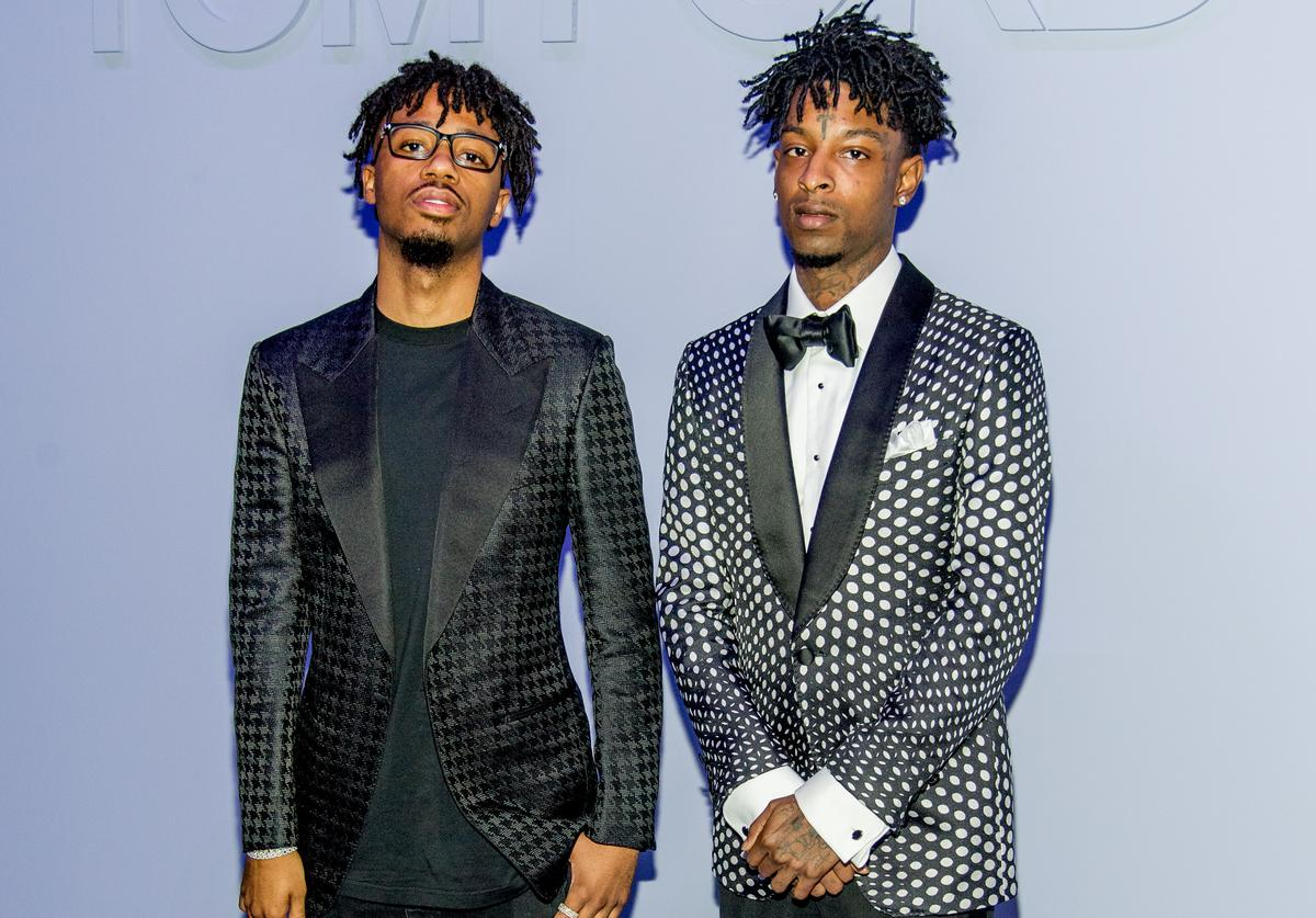 21 Savage and Metro Boomin together