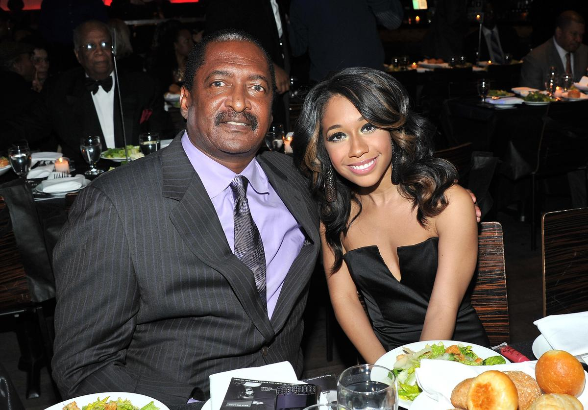 Matthew Knowles & Tiffany Evans at 2011 Living Legends Foundation Event