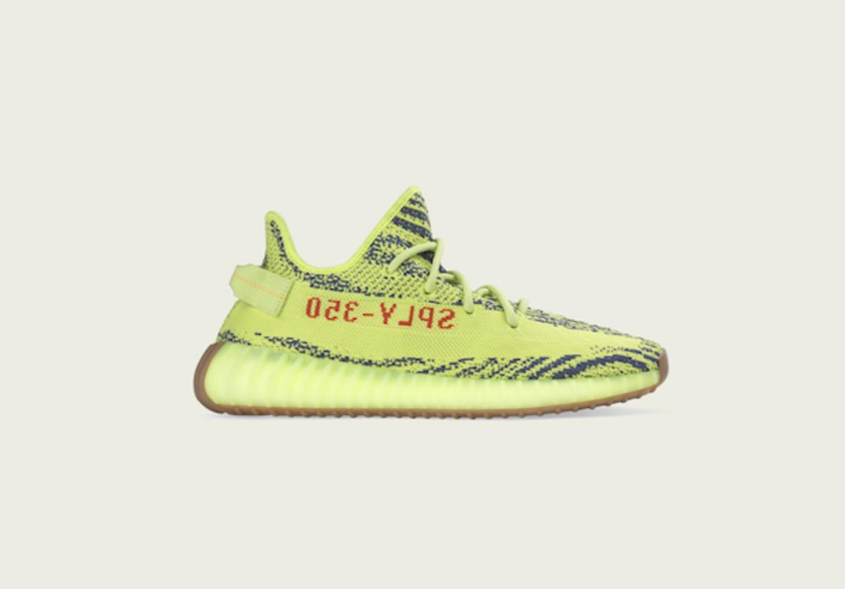 Semi Frozen Yellow Yeezy