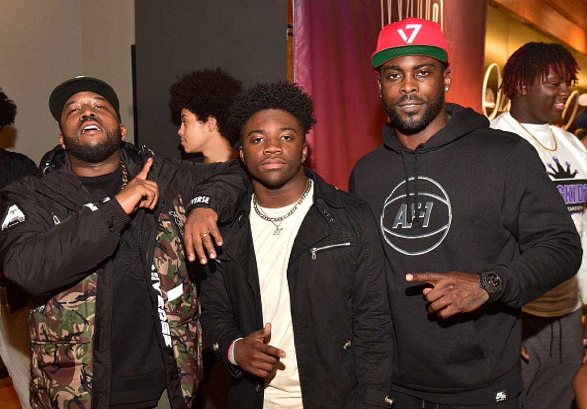 Big Boi, Cross, Mike Vick