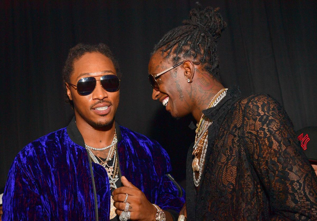 Future & Young Thug together