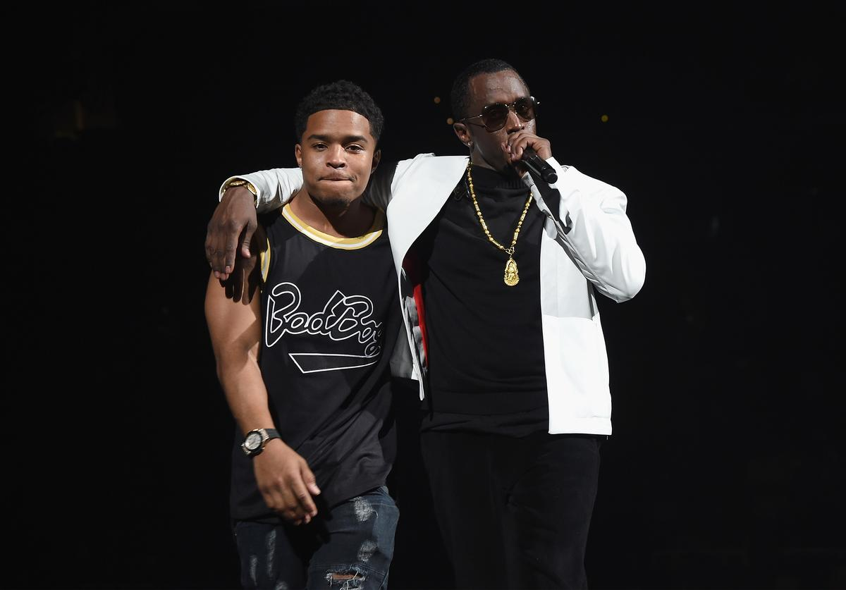 Justin Dior Combs & Diddy
