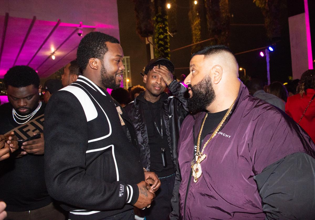 Meek Mill, 21 Savage and DJ Khaled
