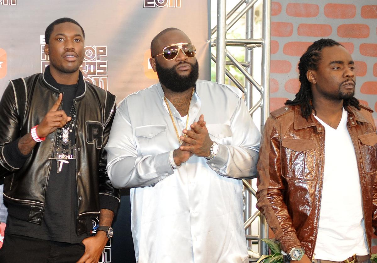 Wale, Meek Mill and Rick Ross