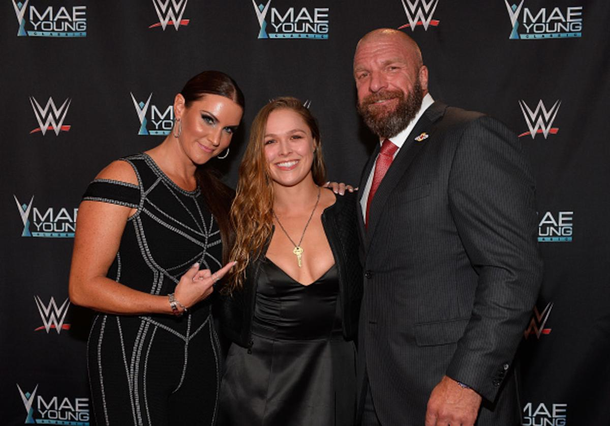 Stephanie McMahon, Rousey, Triple H