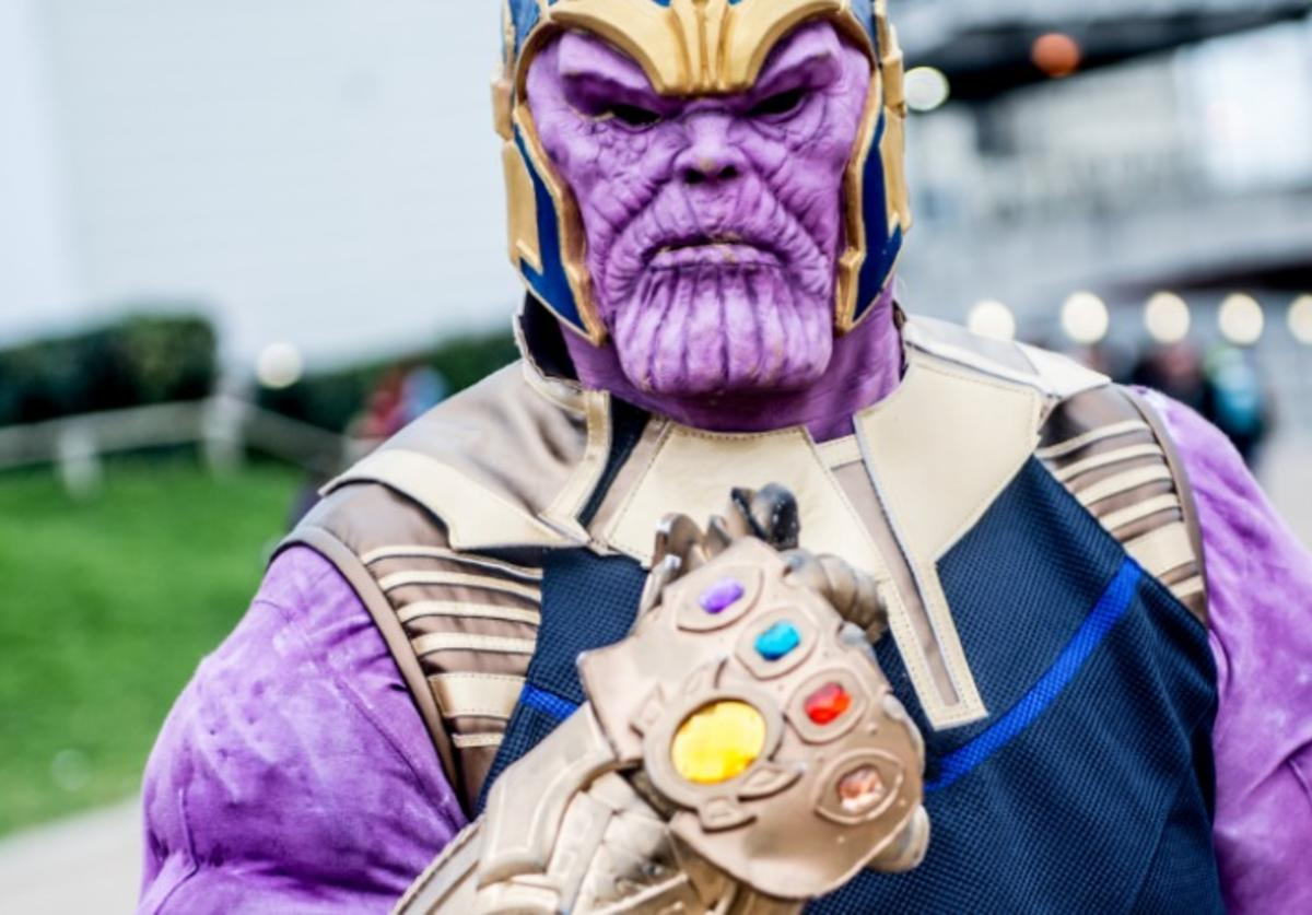 Thanos, off-duty