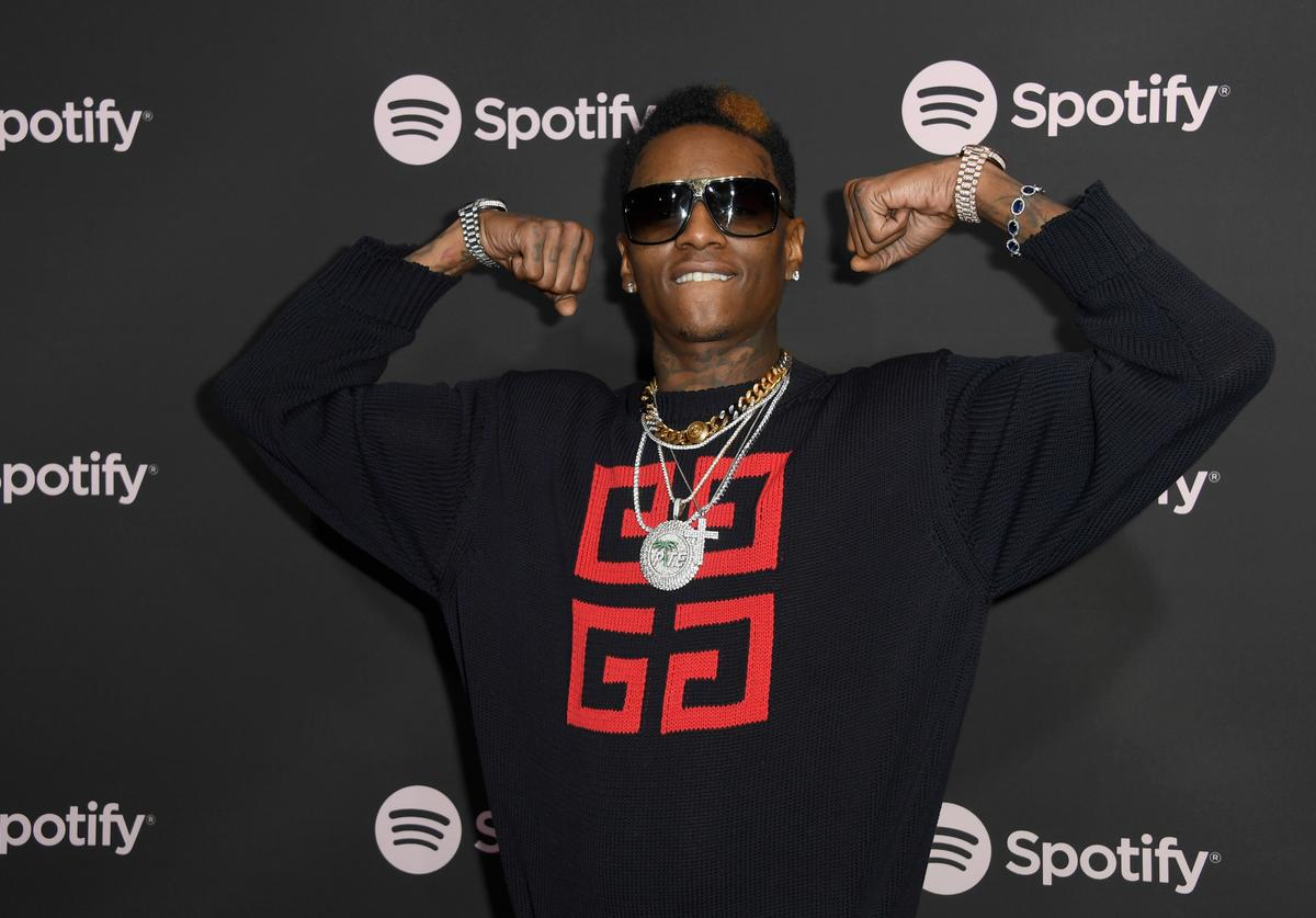 Soulja Boy attends Spotify 'Best New Artist 2019' event at Hammer Museum on February 7, 2019 in Los Angeles, California