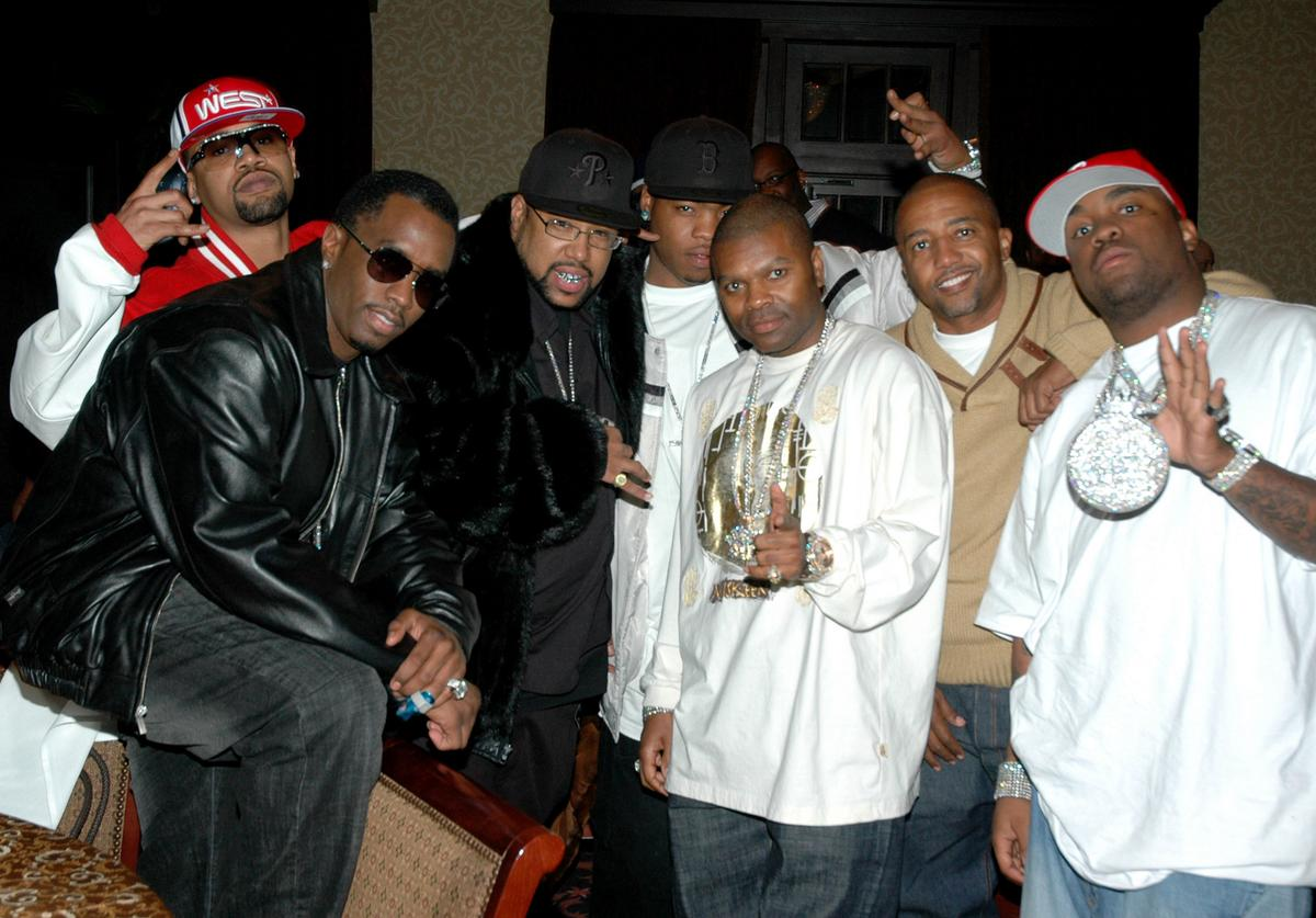Juvenile, Sean Diddy Combs, Webbie, J Prince, Kevin Liles and Mike Jones