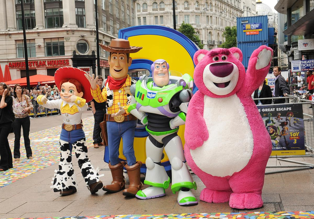 Toy Story characters take to the street