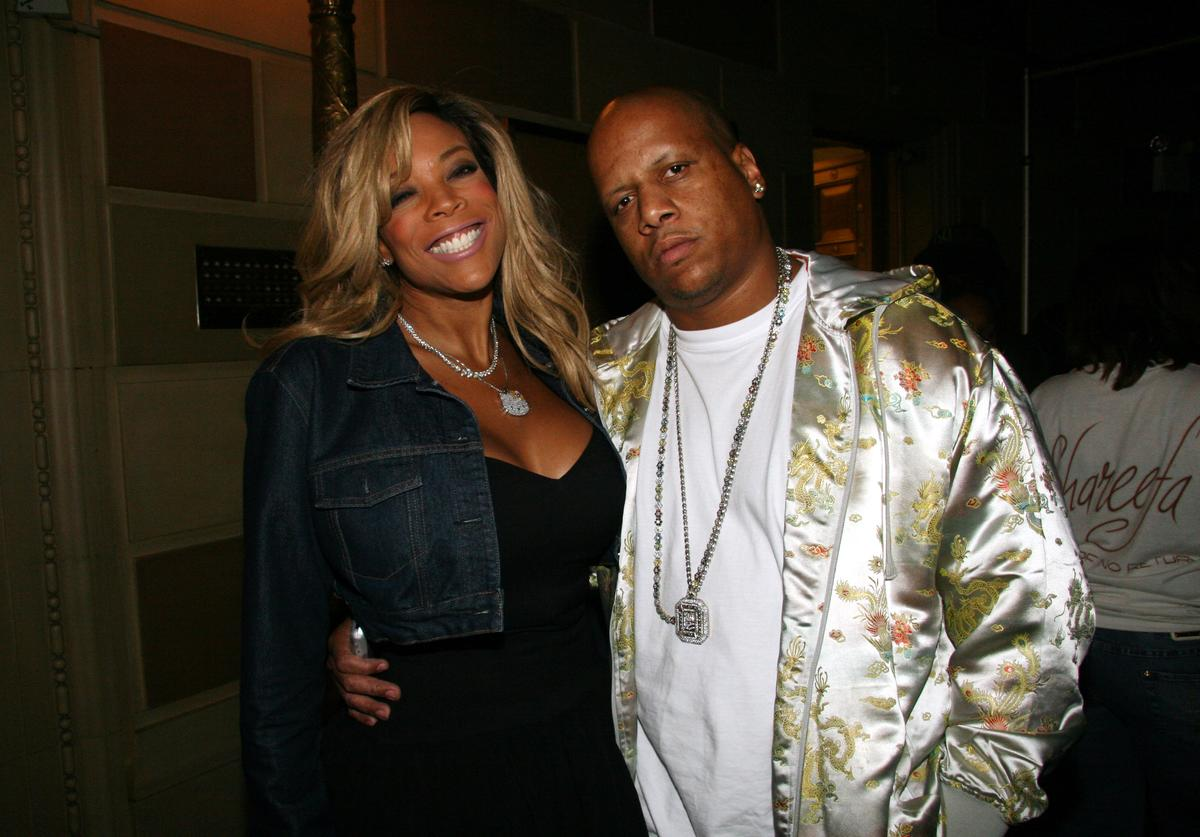 Wendy Williams and Kevin Williams during Alize Presents : 'The Live Wendy Williams Experience' - October 7, 2006 at Gotham Hall in New York, New York, United States
