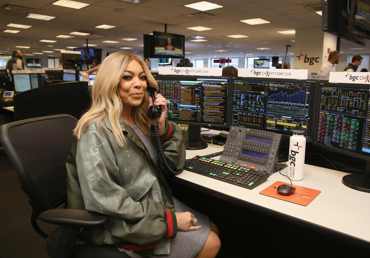 Wendy Williams attends Annual Charity Day hosted by Cantor Fitzgerald, BGC and GFI at BGC Partners, INC on September 11, 2018 in New York City