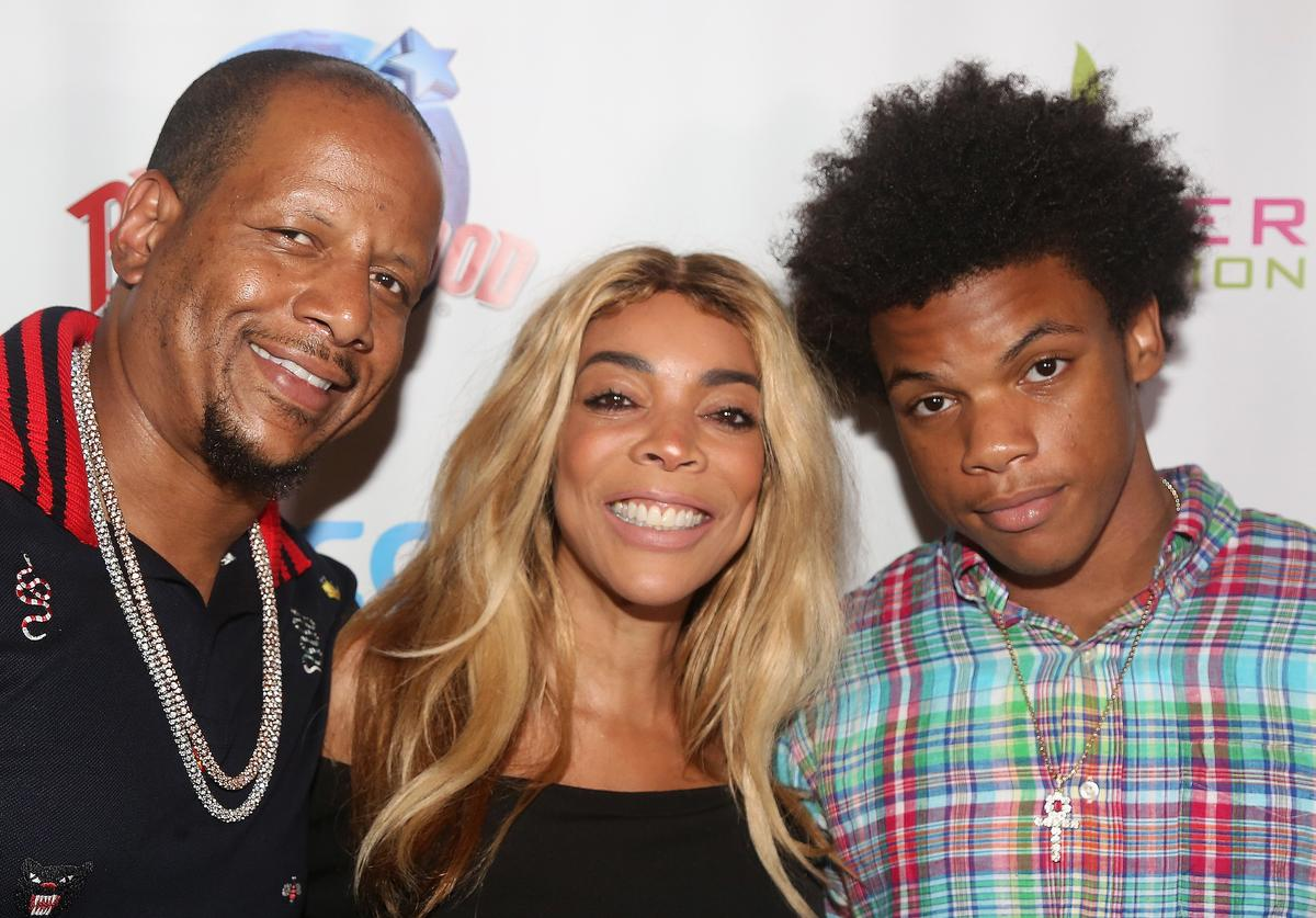 Wendy Williams with Kevin Hunter and her son