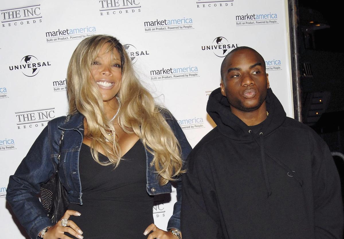 Wendy Williams (L) and Charlemagne attend Irv 'Gotti' Lorenzo's Universal Motown Records Group party at the Utopia III September 28, 2006 in New York City