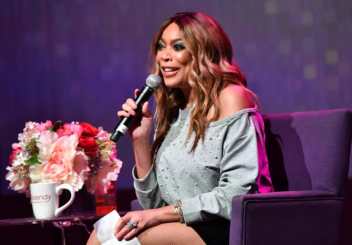 Wendy Williams speaks onstage during her celebration of 10 years of 'The Wendy Williams Show' at The Buckhead Theatre on August 16, 2018 in Atlanta, Georgia