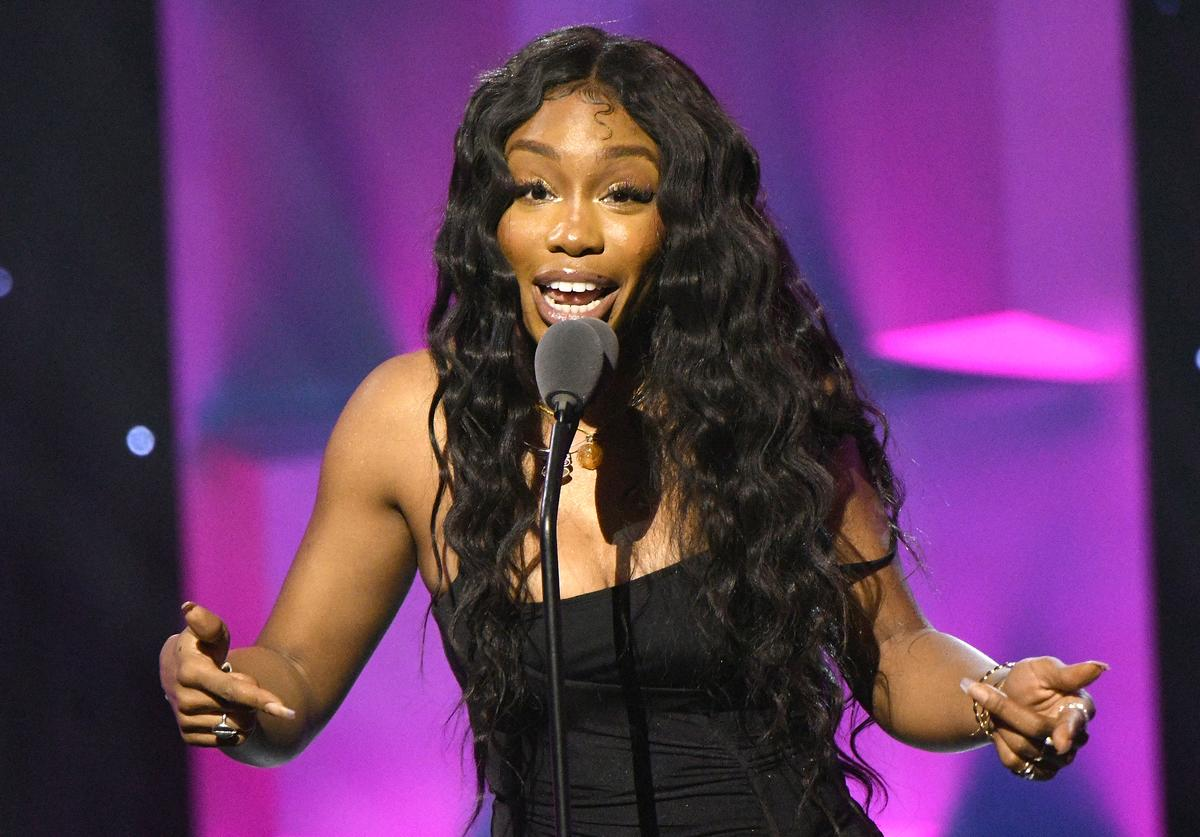SZA at the Billboard Women In Music 2018.