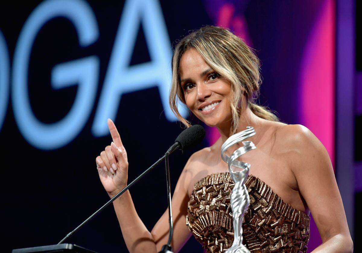 Halle Berry speaks onstage during The 21st CDGA (Costume Designers Guild Awards)