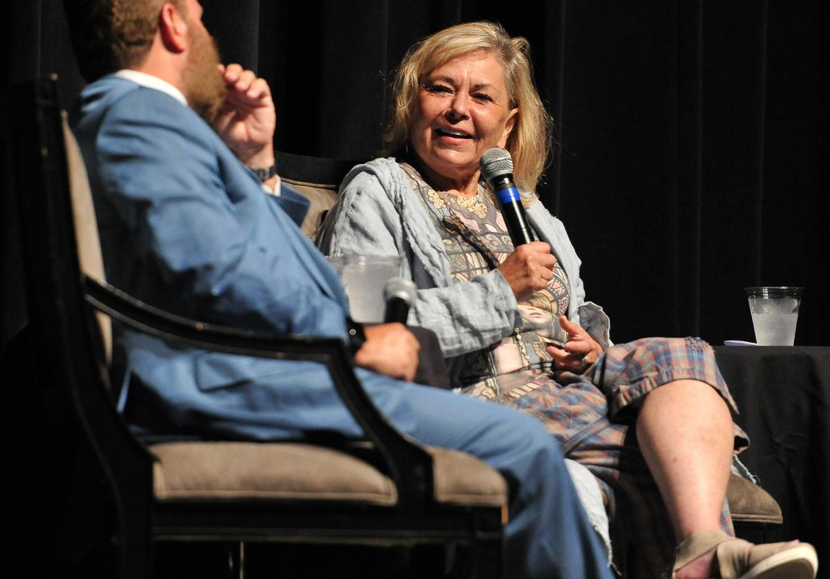 Roseanne Barr participates in 'Is America a Forgiving Nation?,''