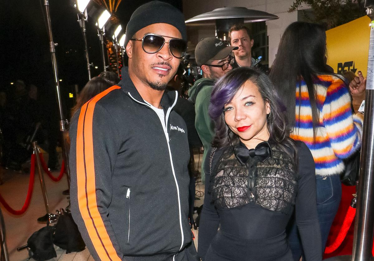 TI & Tiny out in Los Angeles 2019