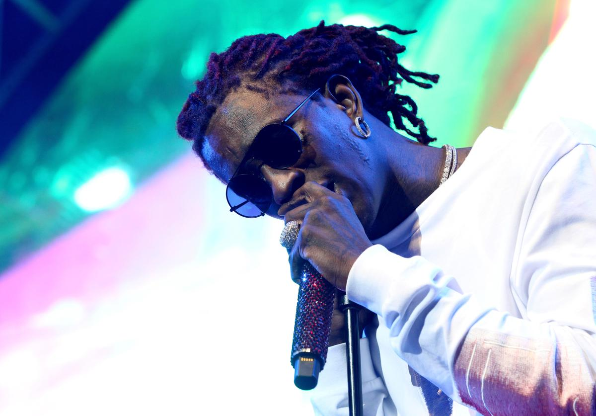 Young Thug performs onstage at night three of the STAPLES Center Concert
