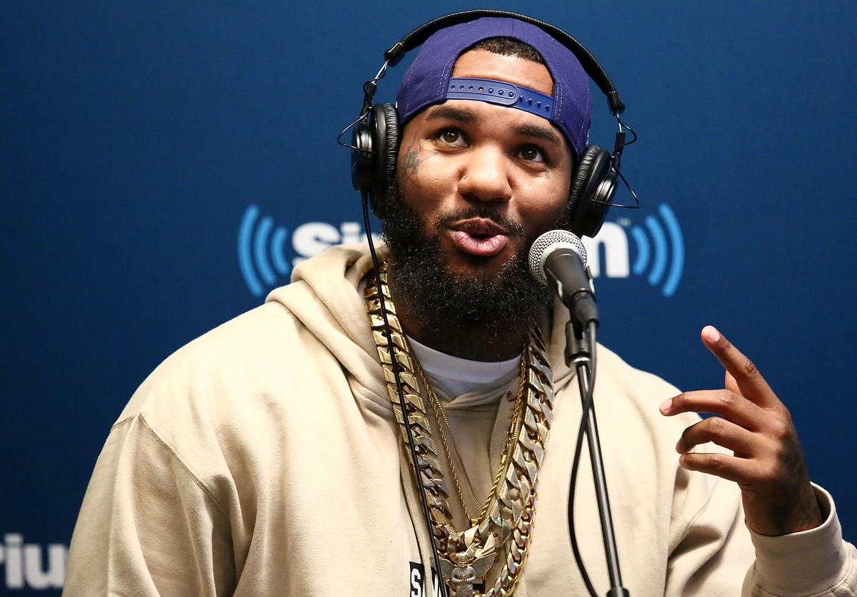 The Game visits the SiriusXM Studios on September 21, 2016 in New York City