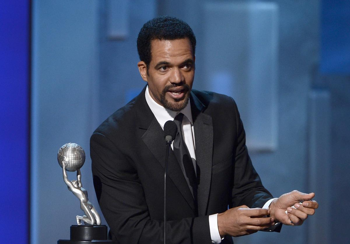 Kristoff St. John onstage during the 44th NAACP Image Awards at The Shrine Auditorium on February 1, 2013 in Los Angeles, California