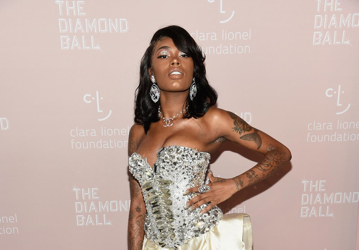 Asian Doll attends Rihanna's 4th Annual Diamond Ball benefitting The Clara Lionel Foundation at Cipriani Wall Street on September 13, 2018 in New York City