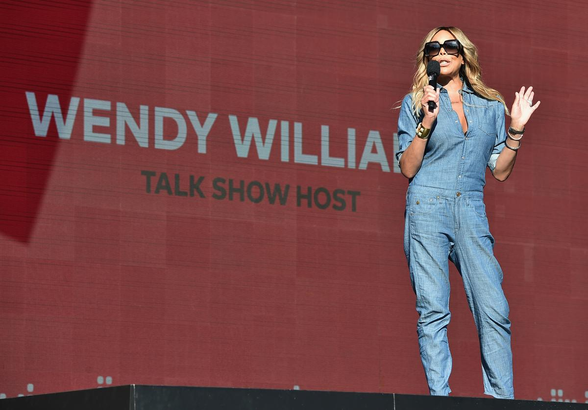 TV personality Wendy Williams speaks onstage during the 2017 Global Citizen Festival