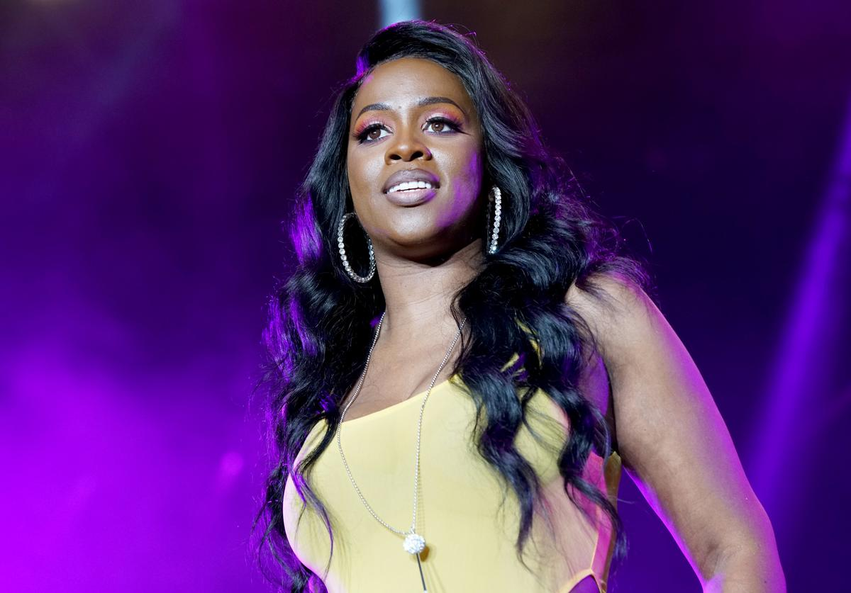Remy Ma performs onstage during the 2018 Essence Festival