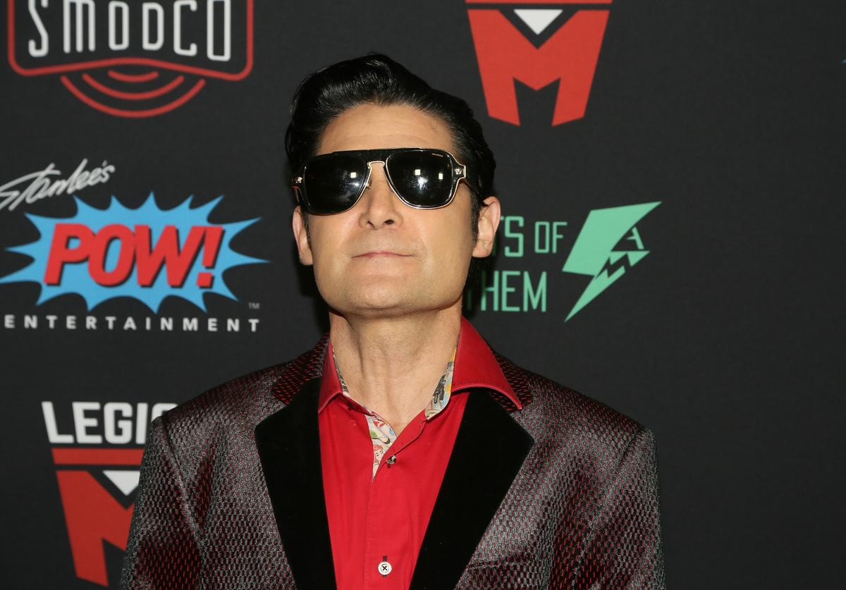 Corey Feldman arrives for Excelsior! A Celebration of The Amazing, Fantastic, Incredible and Uncanny Life Of Stan Lee at TCL Chinese Theatre on January 30, 2019 in Hollywood, California