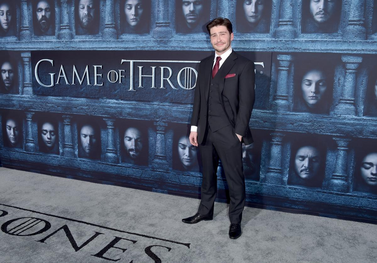 "Actor Daniel Portman attends the premiere of HBO's ""Game Of Thrones"" Season 6"