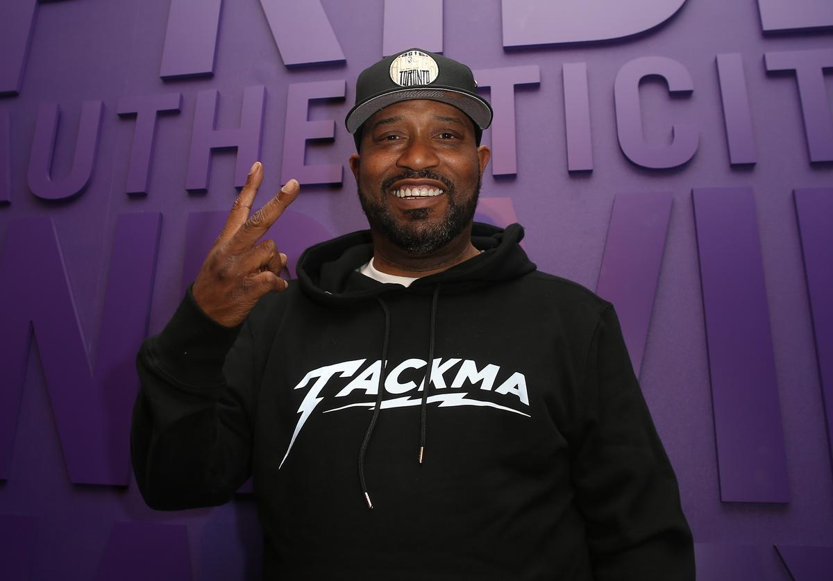 Rap artist Bun B poses after performing at New Era Cap's Toronto flagship on February 12, 2016 in Toronto, Canada.