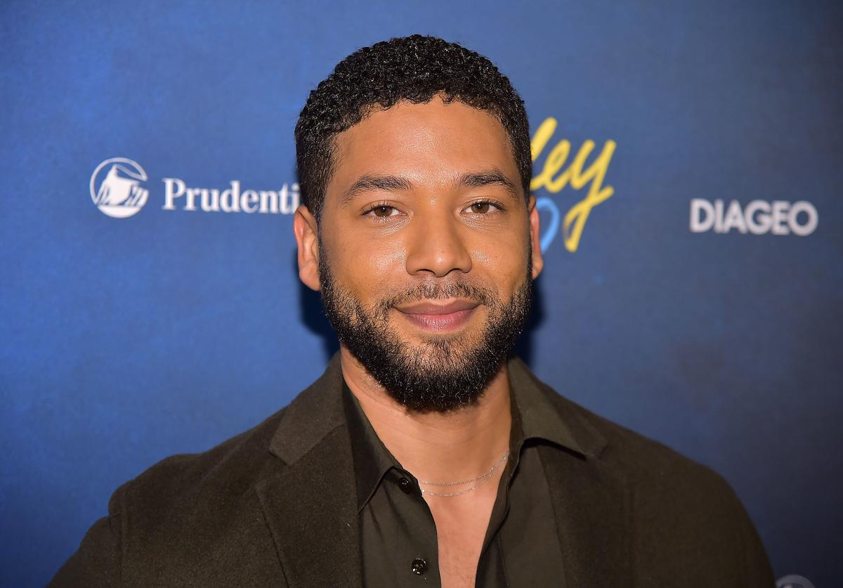 ussie Smollett attends the Alvin Ailey American Dance Theater's 60th Anniversary