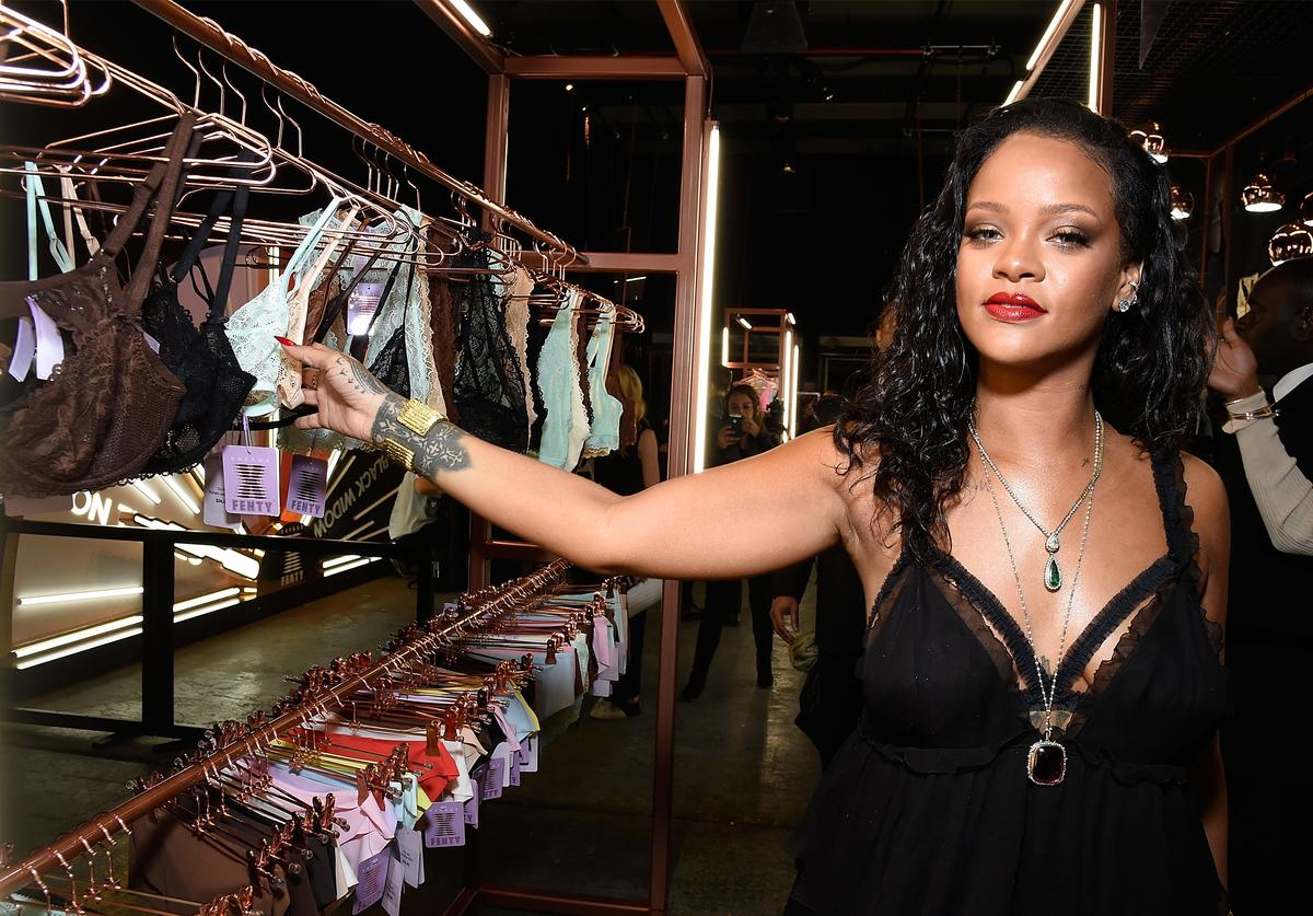 Rihanna launches global lingerie brand, Savage X Fenty at Villain on May 10, 2018 in New York City