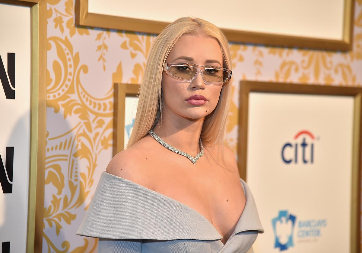 Iggy Azalea attends Roc Nation THE BRUNCH at One World Observatory on January 27, 2018 in New York City