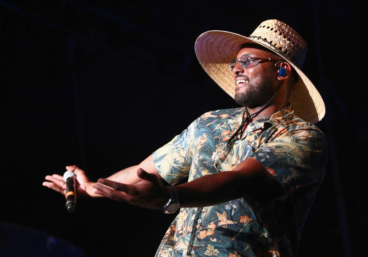 ScHoolboy Q performs with Sir at Gobi Tent during the 2019 Coachella