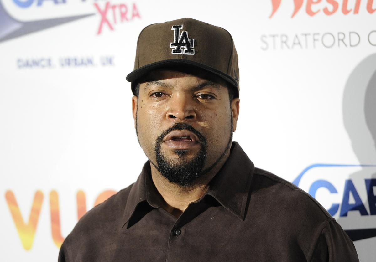 Ice Cube attends a Capital Xtra Special Fan screening at Westfield Stratford City on February 27, 2014 in London, England.
