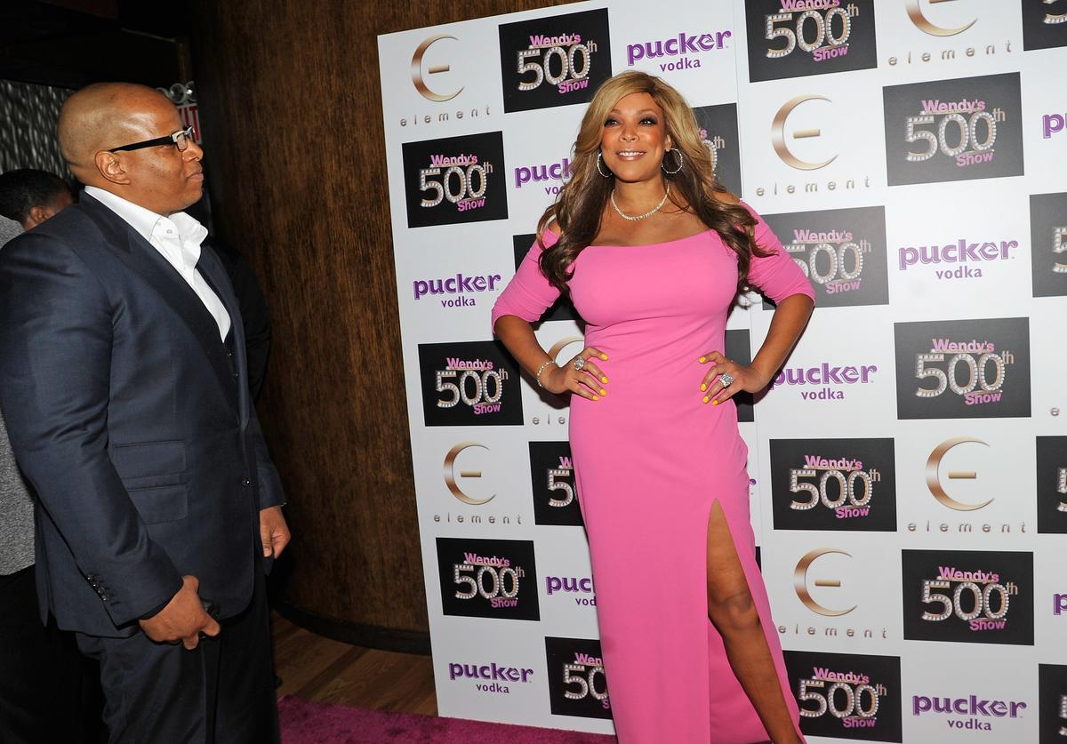 "Wendy Williams and her husband Kevin Hunter attends ""The Wendy Williams Show"" 500th episode celebration"