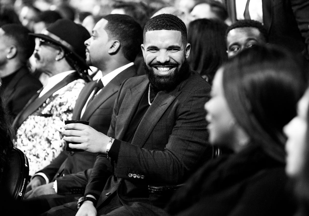 Drake attends the 61st annual GRAMMY Awards at Staples Center